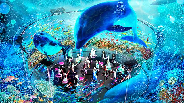 よこはまコスモワールドにある「飛び出しすぎる!360°超立体シアター『4Dキング』」の画像です。