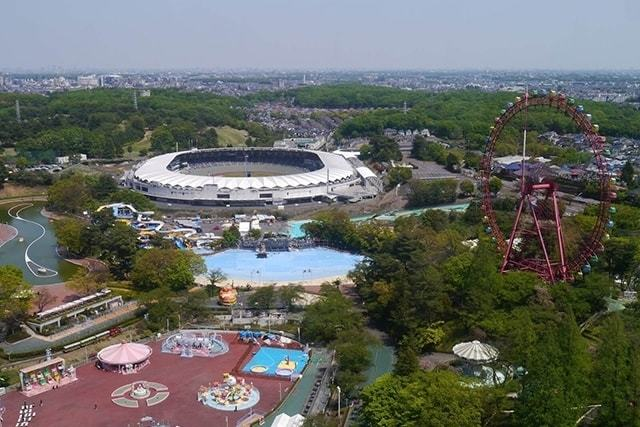 『西武園ゆうえんち』子供も楽しめるアトラクション多数の遊園地!