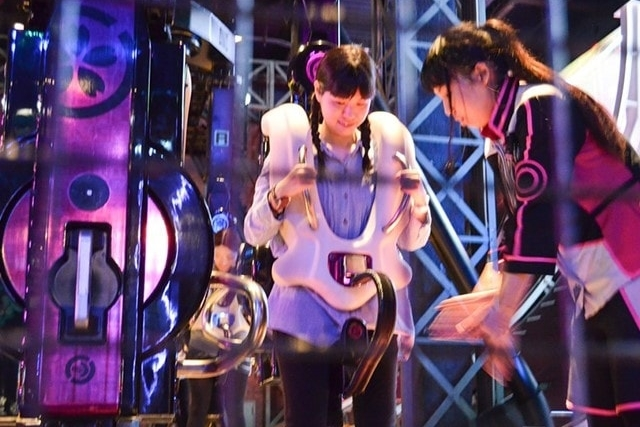お台場の東京ジョイポリスの絶叫アトラクションを楽しもう!