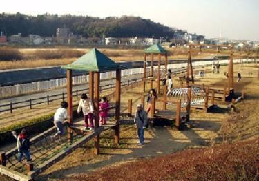 引地川親水公園(藤沢市)