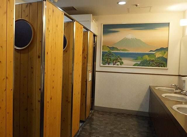 ナンジャタウンのトイレ