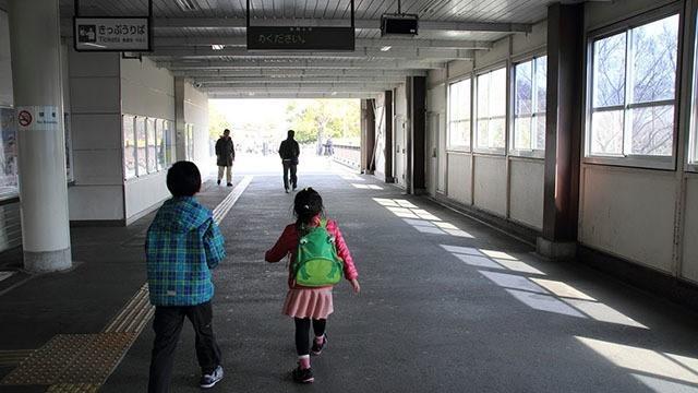 西立川駅から公園口に出れば、国営昭和記念公園はすぐ目の前です。