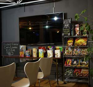 Board Game Cafe Lounge ROSAのクーポン画像です。