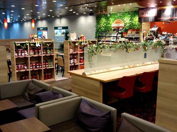 3-1.SEATTLE'S BEST COFFEE 池袋サンシャイン60店 - 内観
