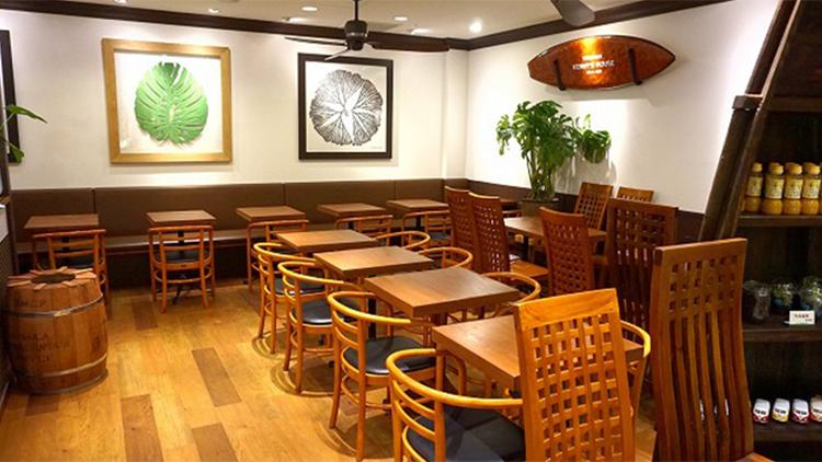 伊豆高原ケニーズハウスカフェ サンシャイン池袋店の内観です