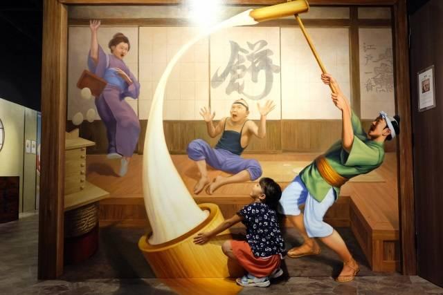 東京トリックアート迷宮館 (2)
