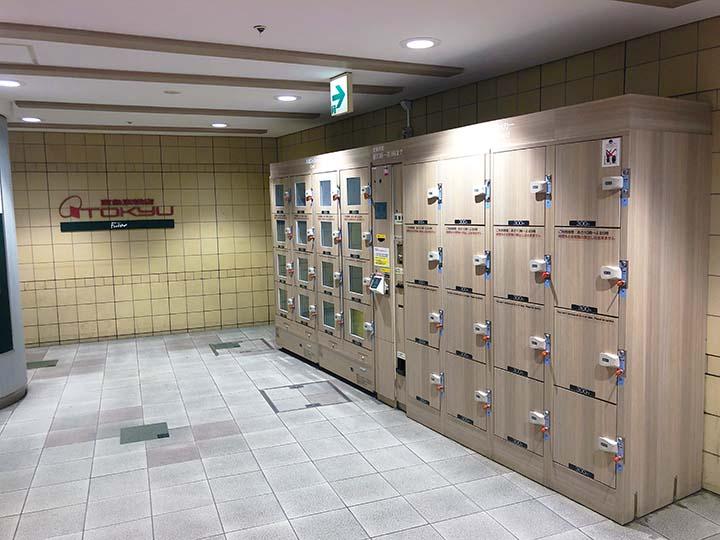 渋谷マークシティコインロッカー