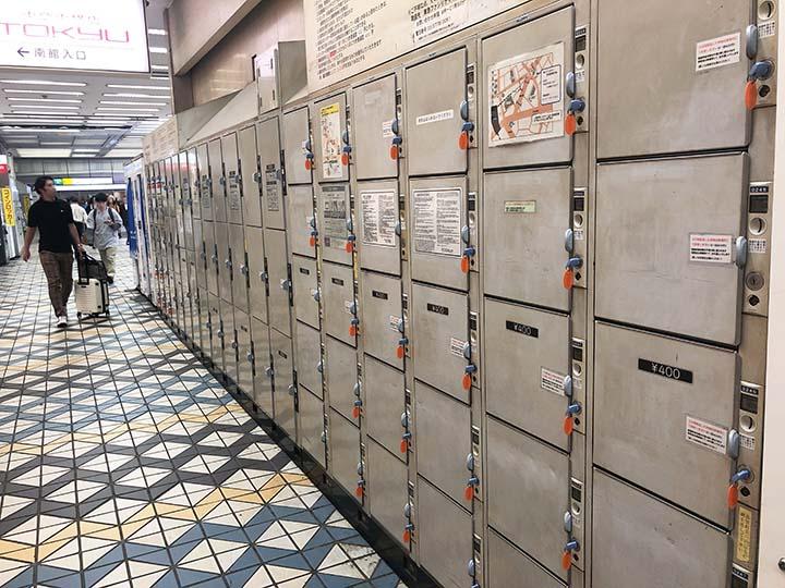 渋谷駅構内コインロッカー