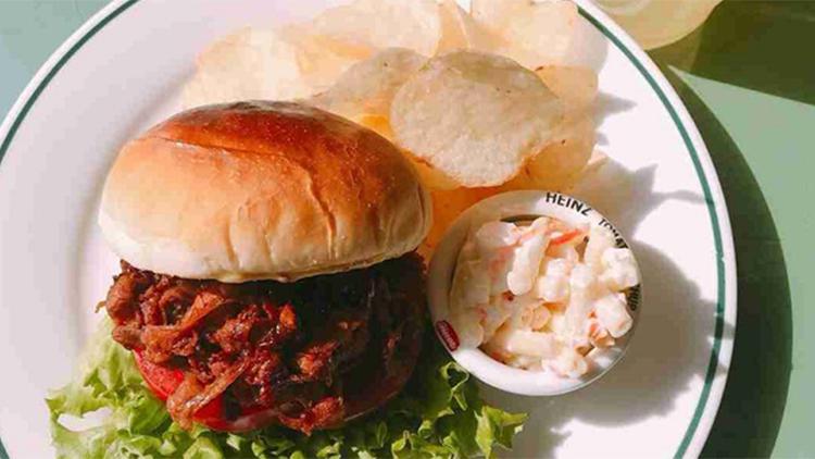 LONGBOARD CAFÉ アクアシティお台場店のハンバーガー