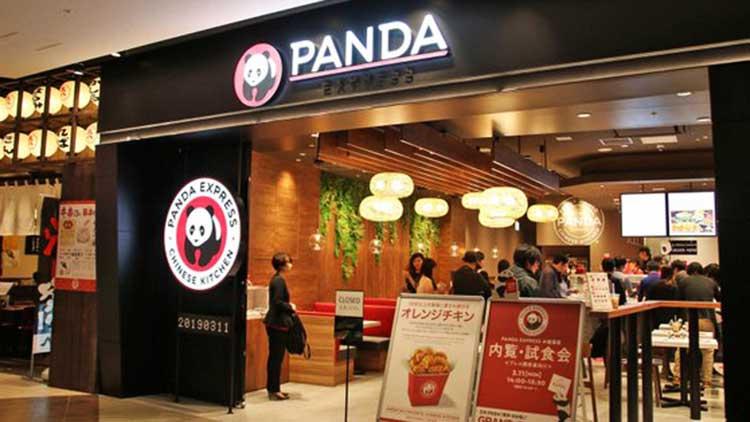 PANDA EXPRESS ダイバーシティ東京プラザの外観