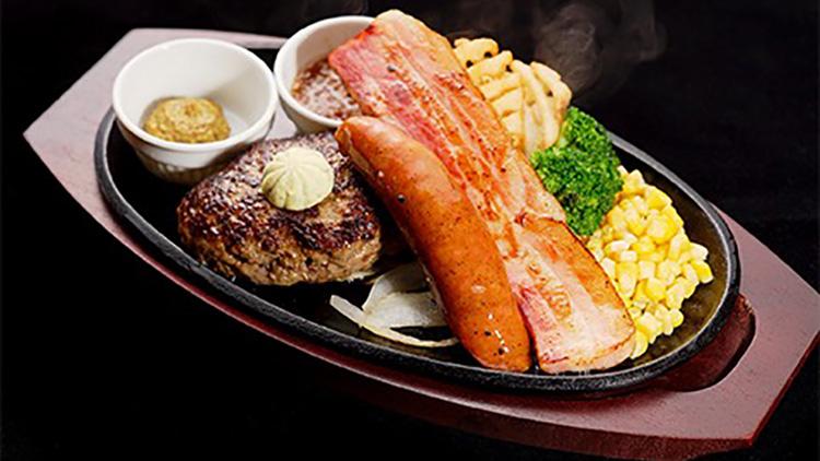 ハンバーグ&ステーキ HIRO ダイバーシティ東京プラザ店のハンバーグ