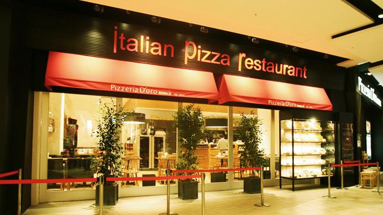 Pizzeria D'oro Roma 台場店 外観
