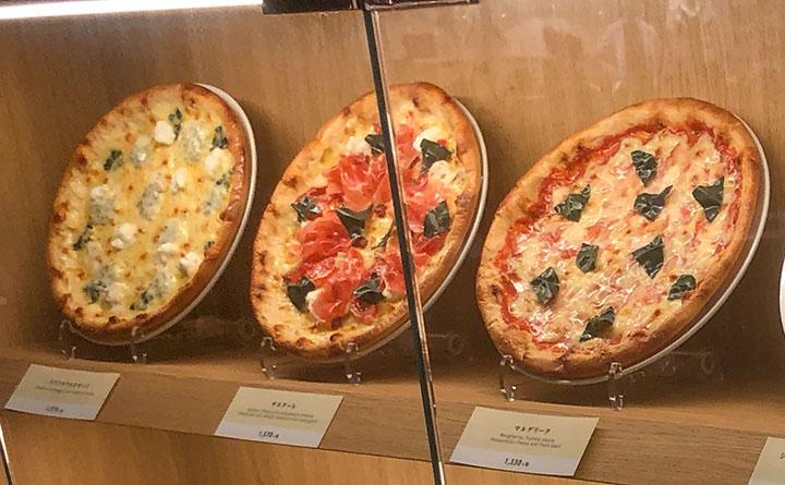 イルフォルノ ヴィーナスフォート店 ピザ