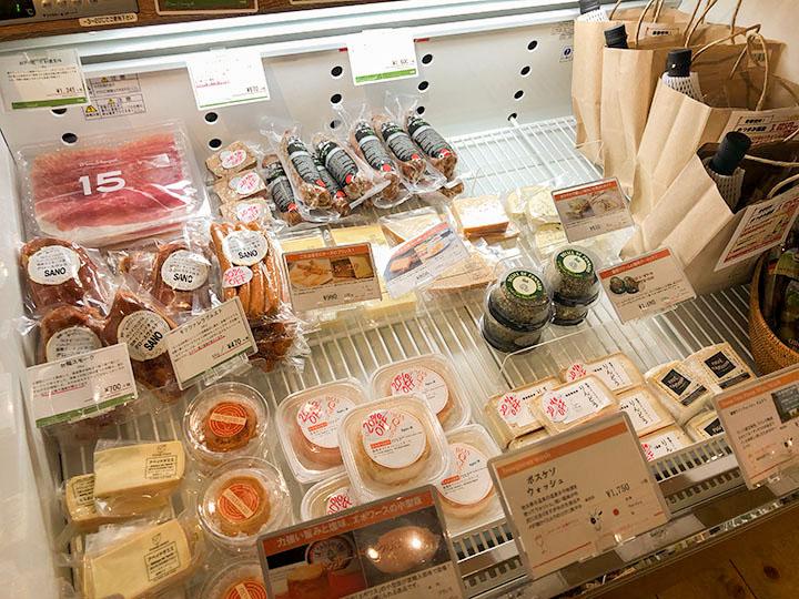 ヴィノスやまざき 池袋店 チーズコーナー