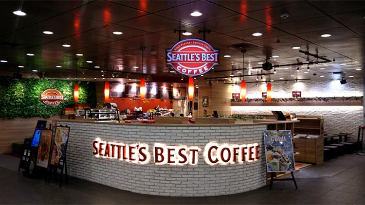 SEATTLE'S BEST COFFEE 池袋サンシャイン60店の外観