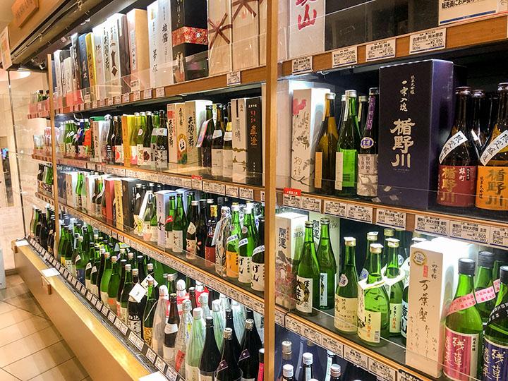 西武池袋本店 日本酒