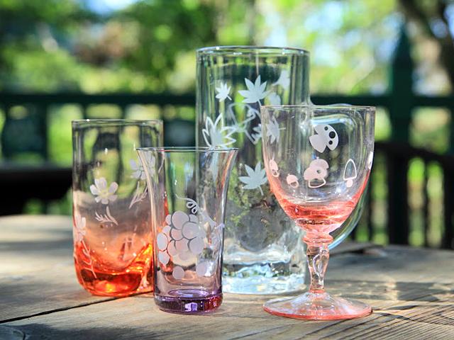 箱根ガラスの森美術館グラス作り