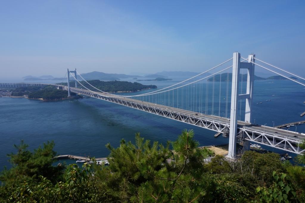 鷲羽山ハイランド 瀬戸大橋