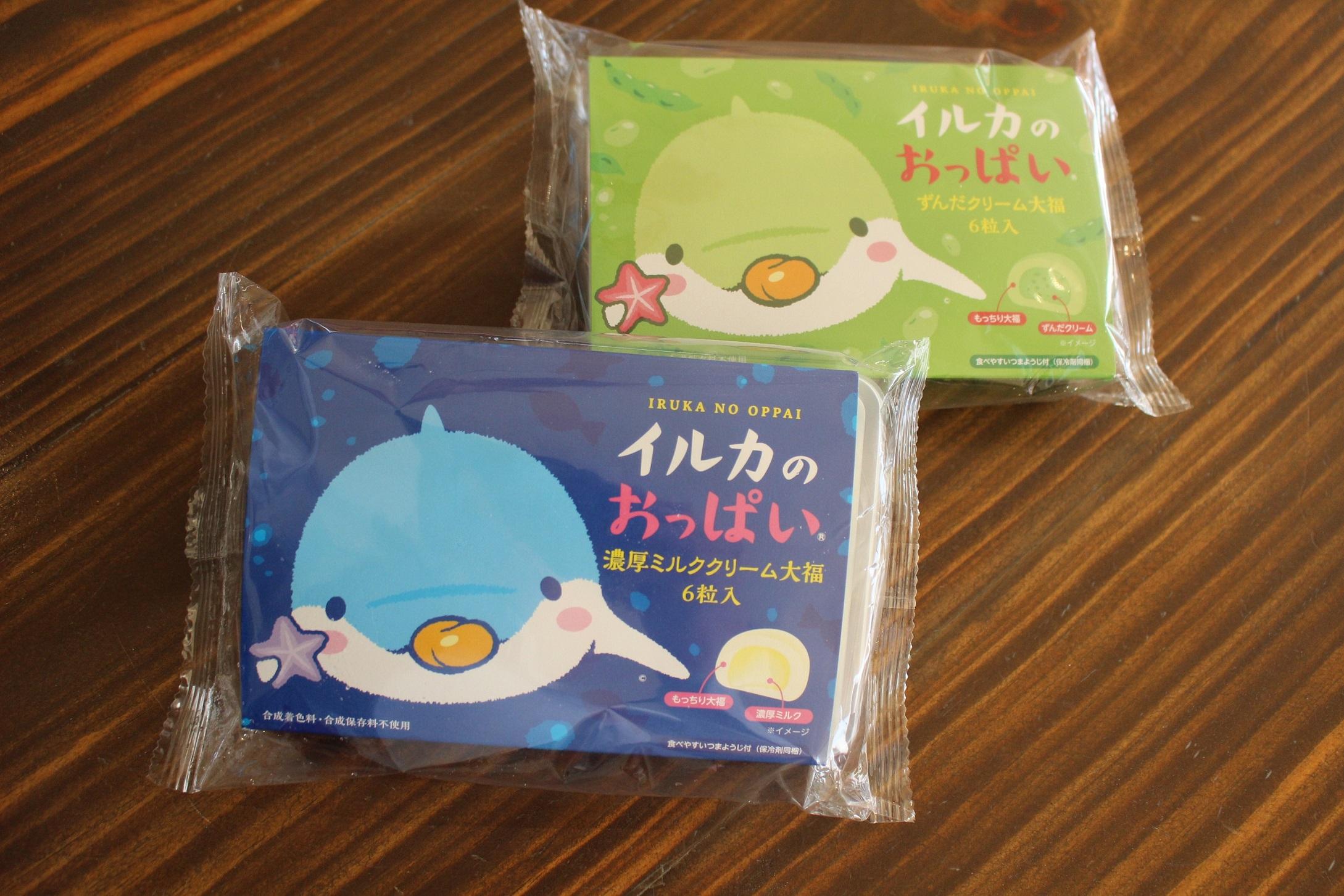 仙台うみの水族館 イルカのおっぱい