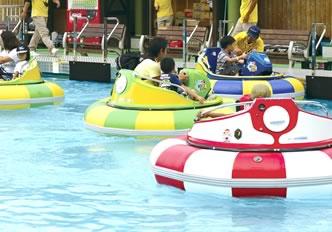関西サイクルスポーツセンター-バンパーボート