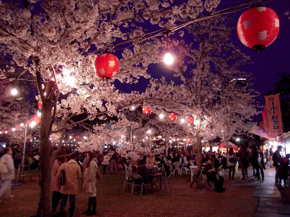仙台でお花見!夜桜も楽しめる!西公園の【櫻岡花見】で桜を見よう♪