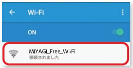 (2)みやぎ Free Wi-Fi