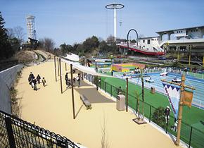 関西サイクルスポーツセンター-プールサイドパルコ