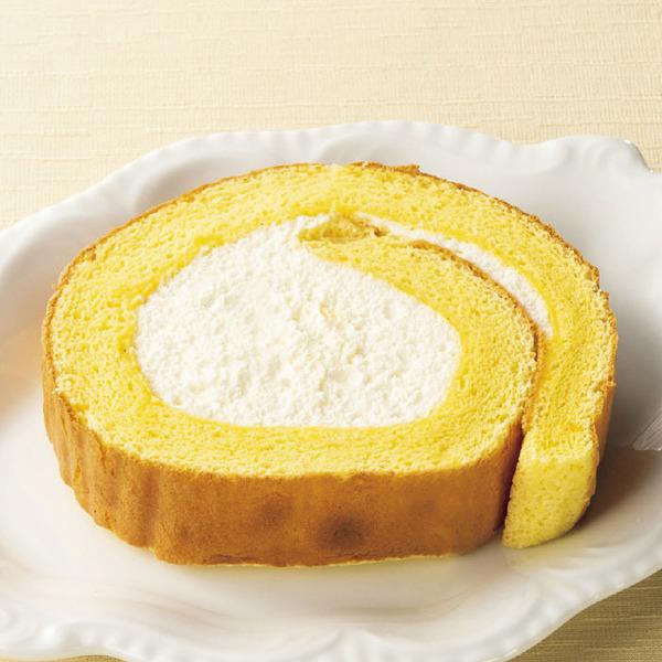 北海道産クリームのふんわりロールケーキ