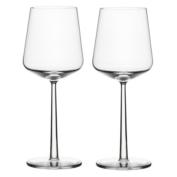 「iittala」エッセンス レッドワイングラス ペアセット