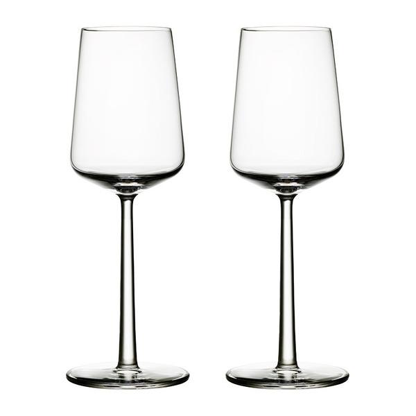「iittala」エッセンス ホワイトワイングラスペアセット
