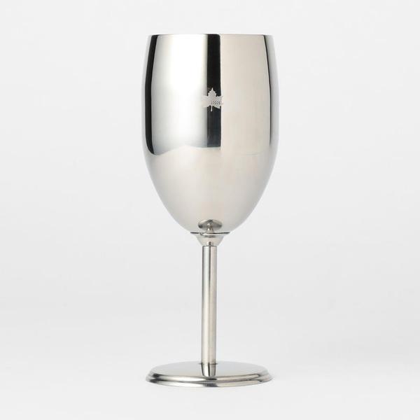 「ロゴス」ステンレスワイングラス