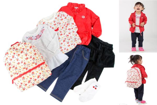 女の子向けファッションアイテムセット