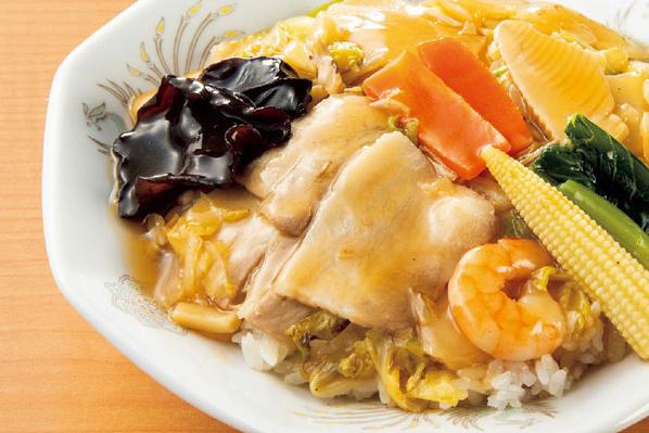 1/2日分の野菜!特製中華丼