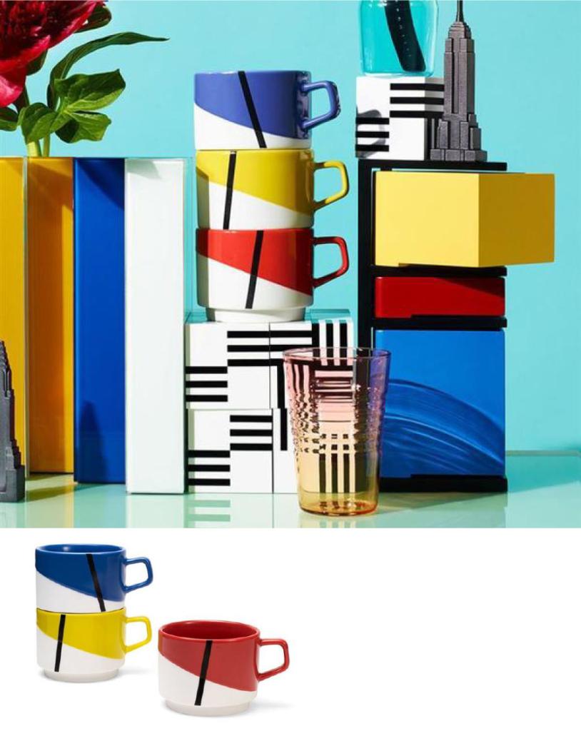 「MoMA」デ・ステイル マグカップセット