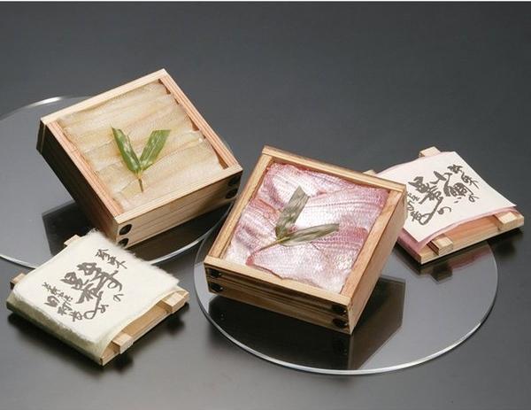 「田村長」 小鯛の昆布〆ときすの昆布〆(各120g)