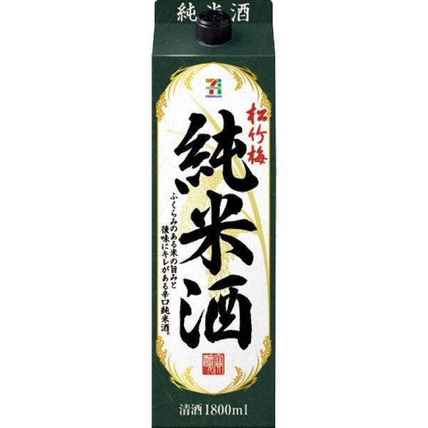 セブンプレミアム 松竹梅 純米酒 1.8L