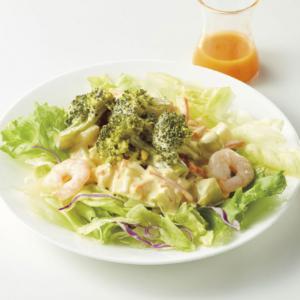 海老とブロッコリータルタルサラダ