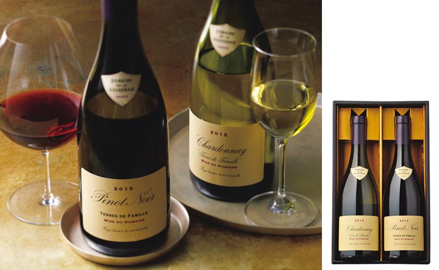 銘醸ドメーヌ/フランス ブルゴーニュ紅白ワインセット