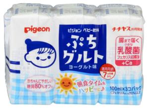 ピジョン/ベビー飲料 ぷちグルト ヨーグルト味 紙パック 100ml×3個パック