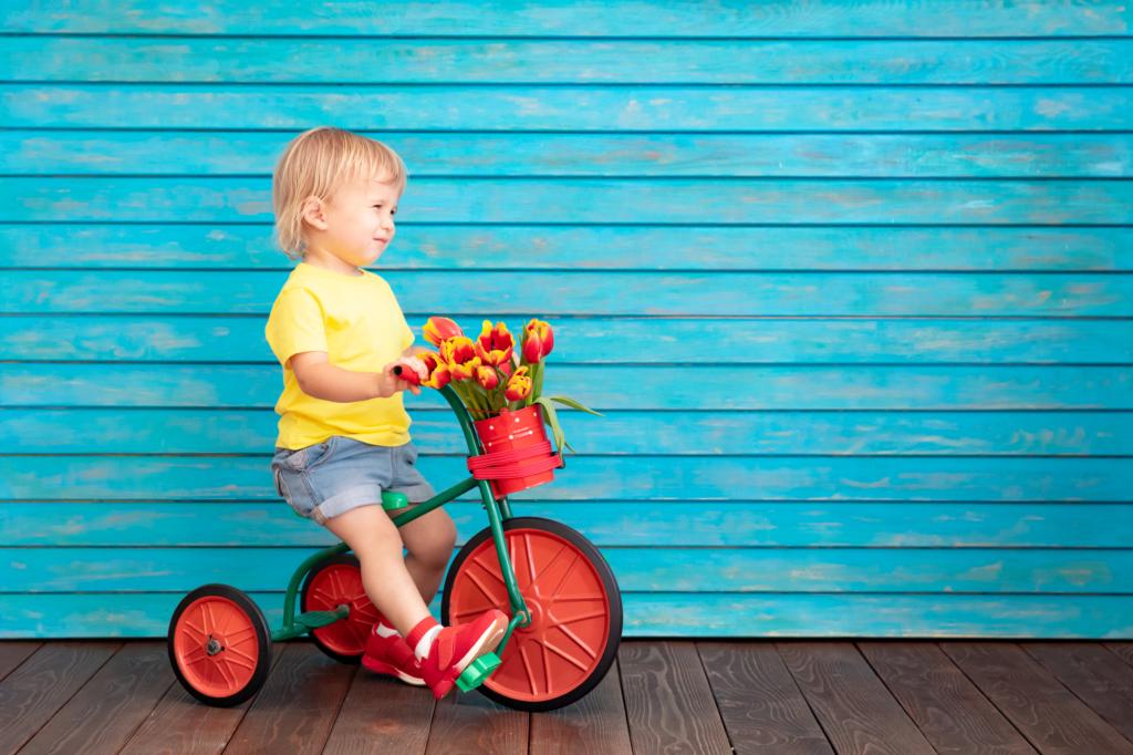 1歳~ 三輪車おすすめ18選!おしゃれで安全♪折りたたみや室内用も