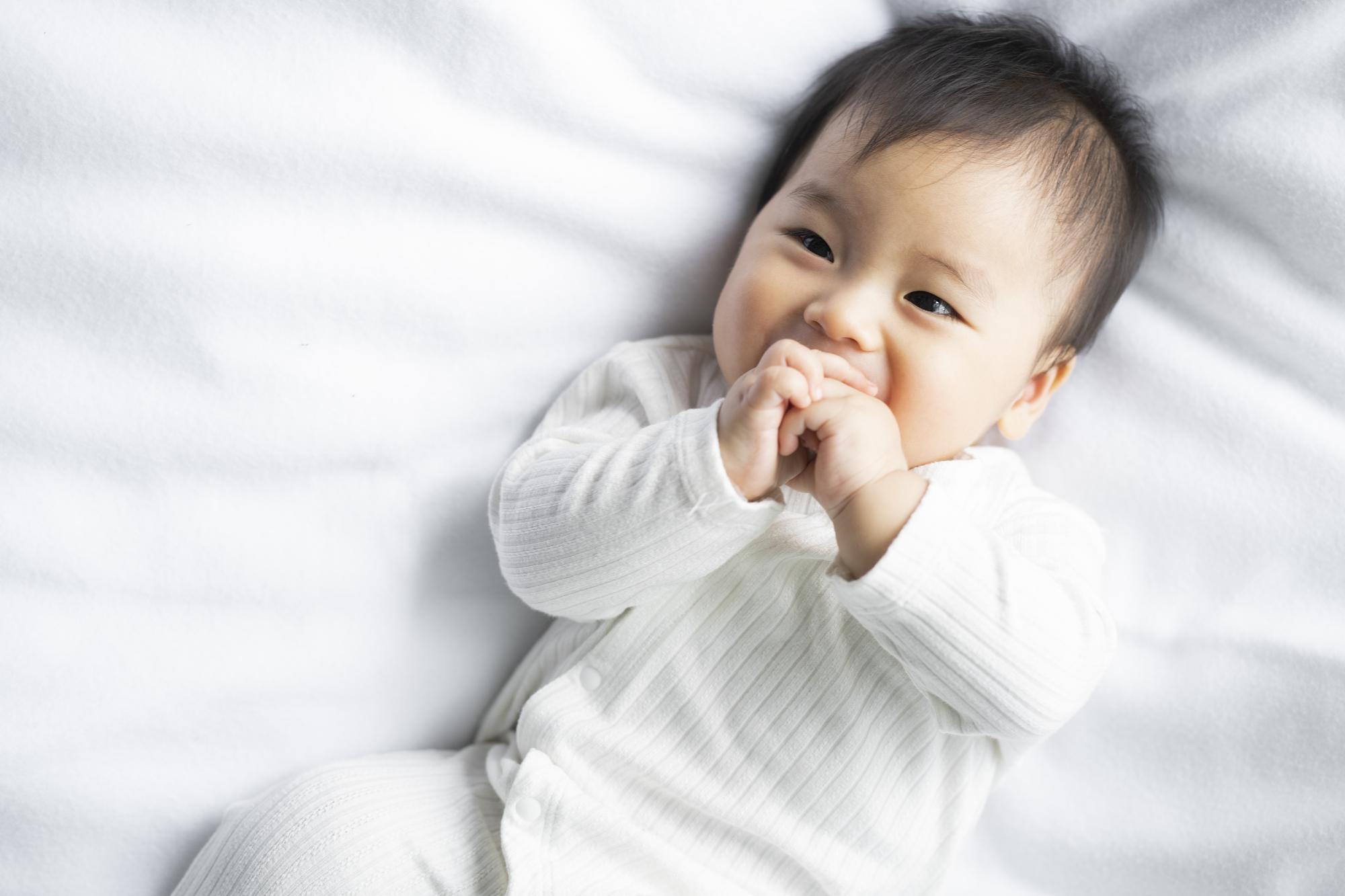 赤ちゃん腹巻