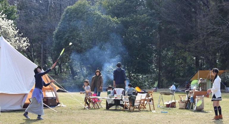 初心者 子連れキャンプ