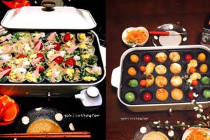 ホットプレートの活用術&意外なメニュー!おしゃれご飯を時短で作ろう