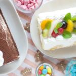 オシャレでかわいい!デコレーションロールケーキ