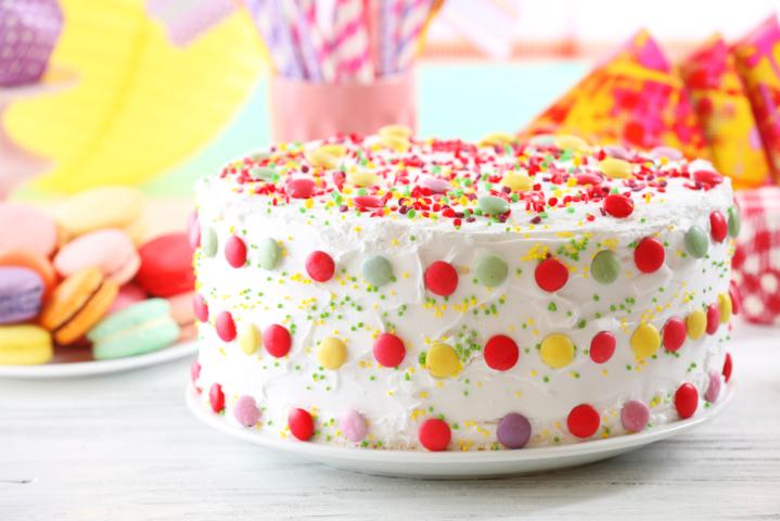 子供向け デコレーションケーキ
