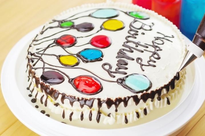 イラストケーキ 材料