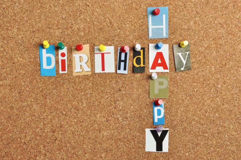 誕生日 コルクボード