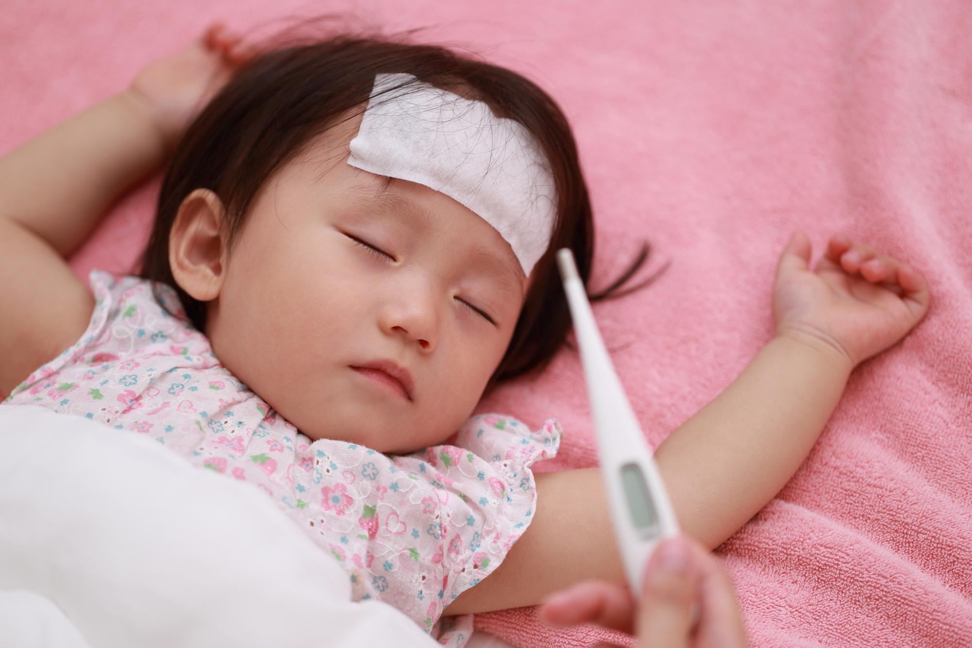 赤ちゃん ヘルパンギーナ