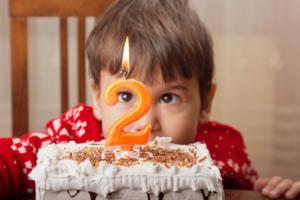 2歳の誕生日!キャラクターケーキを利用するメリット