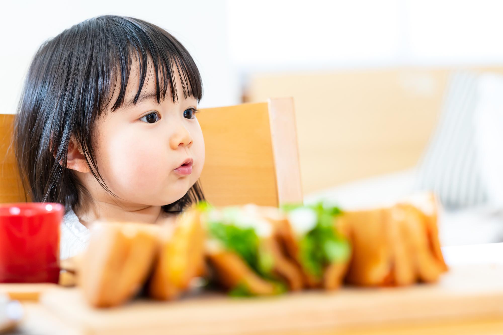 2歳児 食事